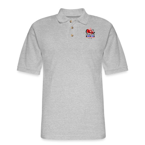 We Are OCC english - Men's Pique Polo Shirt