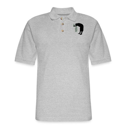drunkpatron - Men's Pique Polo Shirt