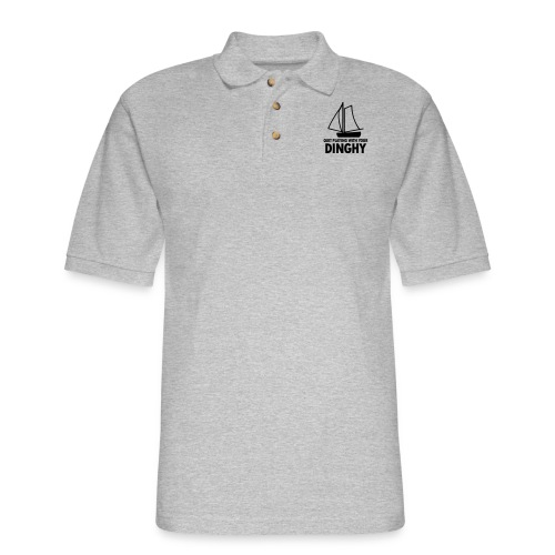 Quit Playing With Your Dinghy - Men's Pique Polo Shirt