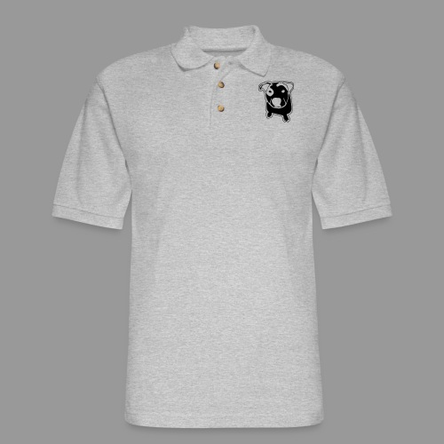 Pit Bull T-Bone - Men's Pique Polo Shirt