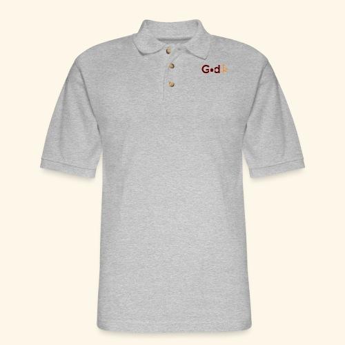 GOD IS #5 - Men's Pique Polo Shirt