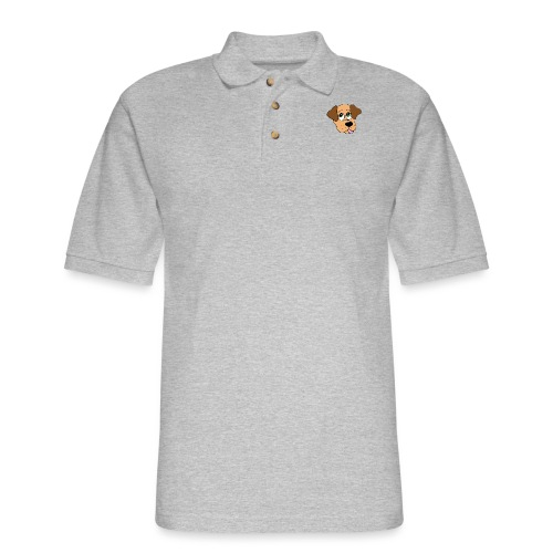 Puppy Love - Men's Pique Polo Shirt