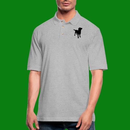 Men's Pique Polo Shirt - Dog,cute,funny