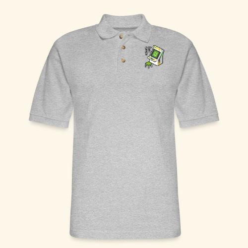 Pixelcandy_AW - Men's Pique Polo Shirt