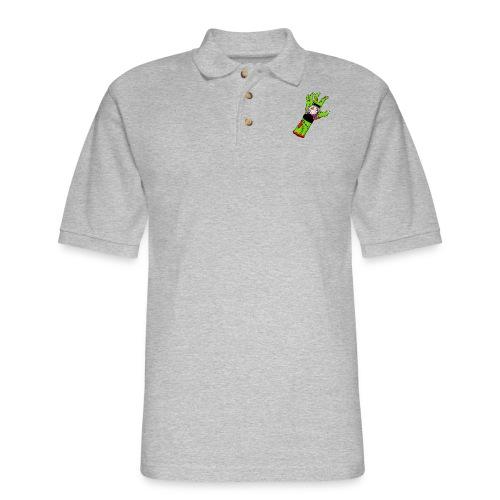 Altitude Zombie! - Men's Pique Polo Shirt