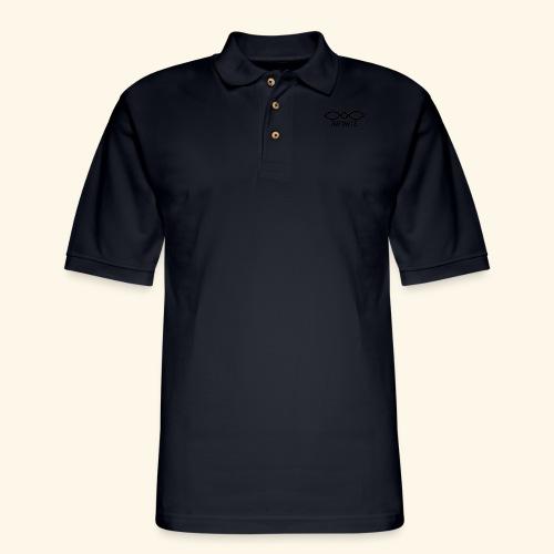 INFINITE - Men's Pique Polo Shirt