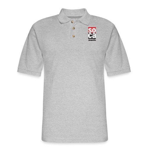 Soca music - Men's Pique Polo Shirt