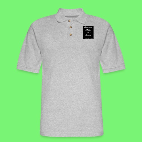 Leaked consent - Men's Pique Polo Shirt