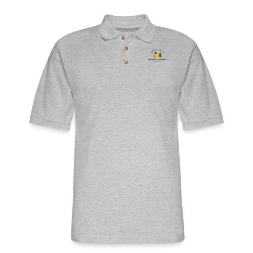 Outdoor Camping Adventure awaits T-shirt - Men's Pique Polo Shirt