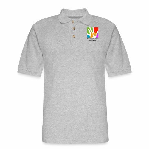 Logo fondation École Marie-Reine - Polo en coton piqué pour hommes