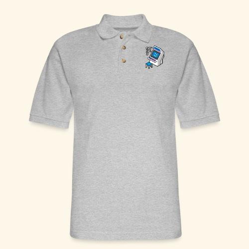 Pixelcandy_BC - Men's Pique Polo Shirt