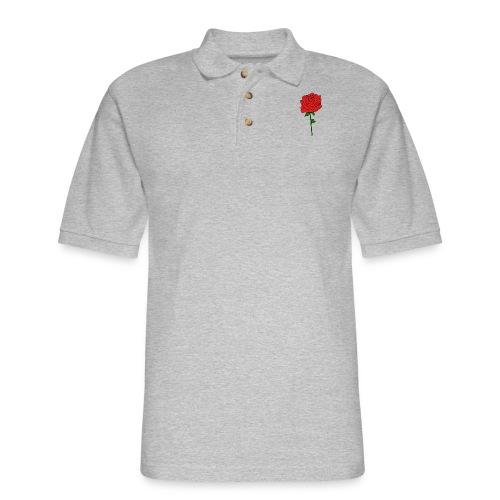 Classic rose - Men's Pique Polo Shirt