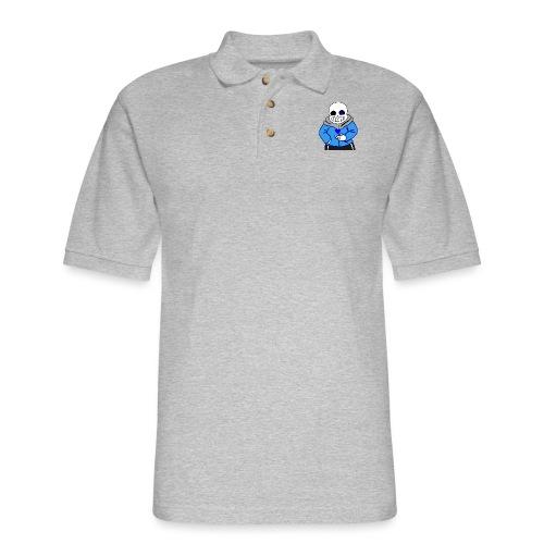 "Undertale San ""ReDraw"" - Men's Pique Polo Shirt"