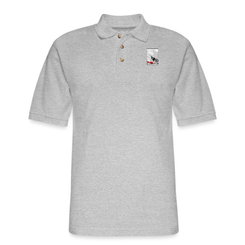 Get out the cloud moto - Men's Pique Polo Shirt