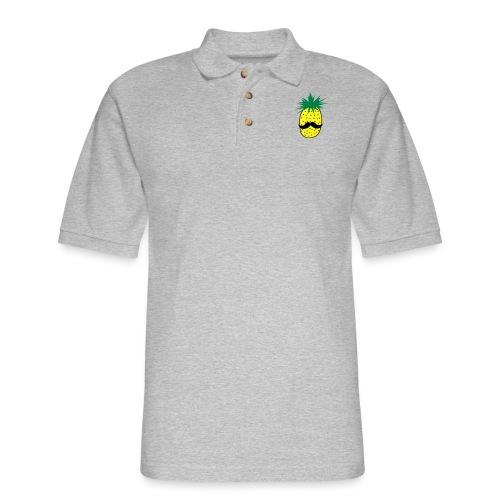 LUPI Pineapple - Men's Pique Polo Shirt