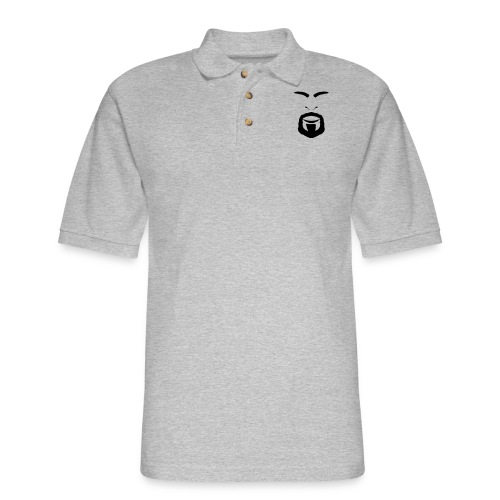 FACES_ANGRY - Men's Pique Polo Shirt