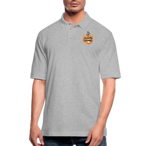 It's FivePD Everybody! - Men's Pique Polo Shirt