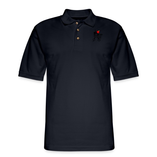 I WILL CUT YOU - Men's Pique Polo Shirt