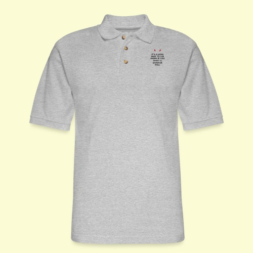 AC/DC misheard lyrics - Men's Pique Polo Shirt