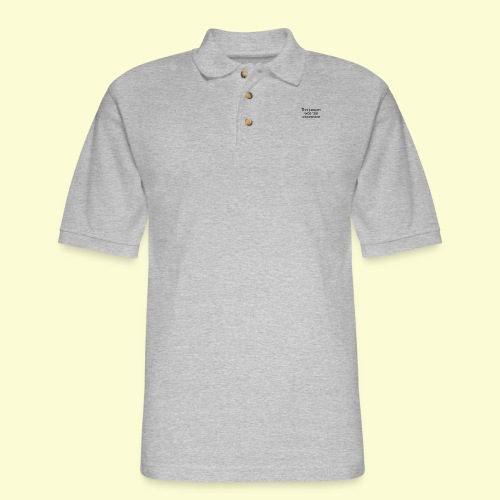 This jumper was too expensive - Men's Pique Polo Shirt