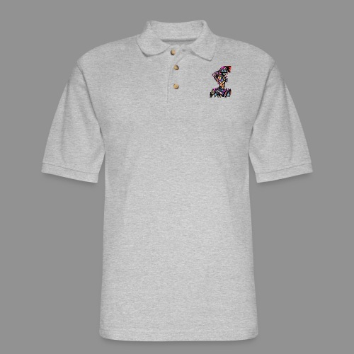 The Patchwork Man - Men's Pique Polo Shirt