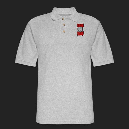 Te la voy a soplar como cassette de video juego - Men's Pique Polo Shirt