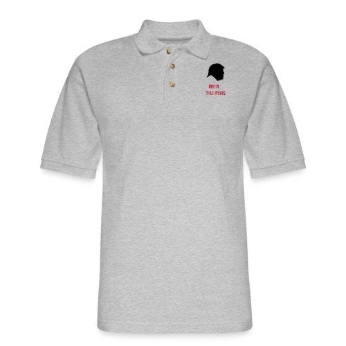 Merry Trumpmas Red - Men's Pique Polo Shirt