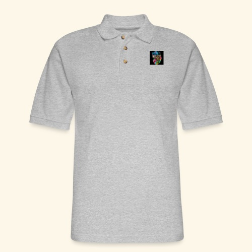 Tommy The Cats Kid and Babies wearing - Men's Pique Polo Shirt
