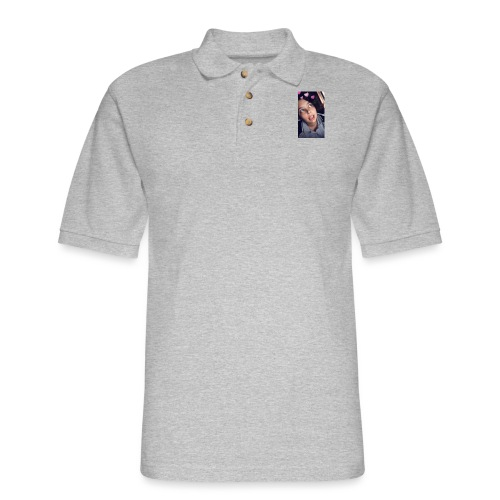 Paige being gay - Men's Pique Polo Shirt