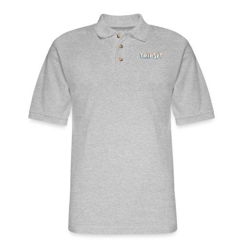 Molecules - Men's Pique Polo Shirt