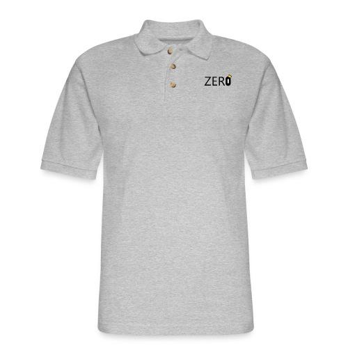 ZERO - Men's Pique Polo Shirt