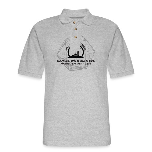 Pikes Peak Gamers Convention 2018 - Clothing - Men's Pique Polo Shirt