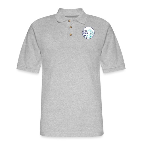 HIS School with Mission - Men's Pique Polo Shirt