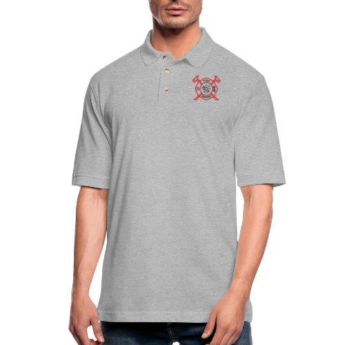 Fire Rescue - Men's Pique Polo Shirt
