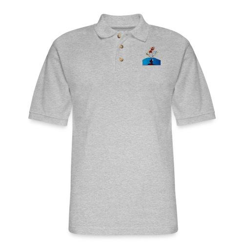 Girl and name shirt - Men's Pique Polo Shirt