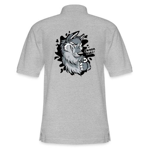 Awooo Baby - Men's Pique Polo Shirt