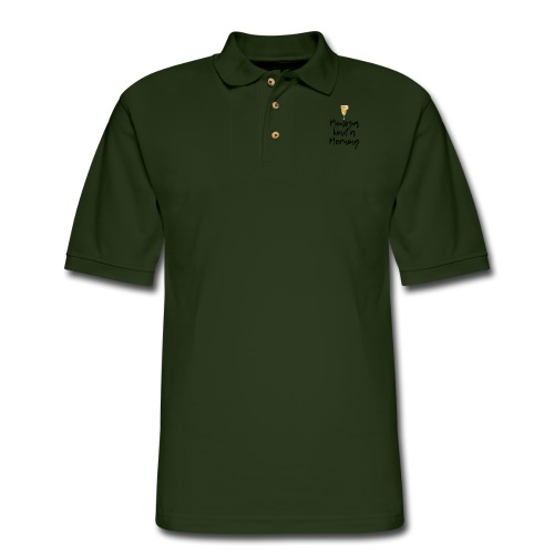 Mimosa Kind a Morning - Men's Pique Polo Shirt