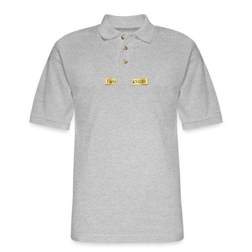 Dinosaur Riders T-Shirt - Men's Pique Polo Shirt
