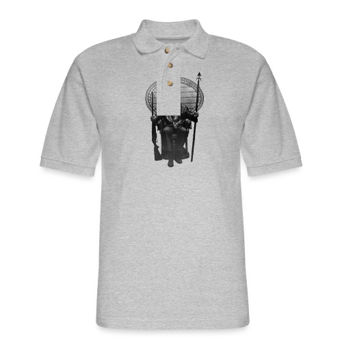 Huey P. Newton - Men's Pique Polo Shirt