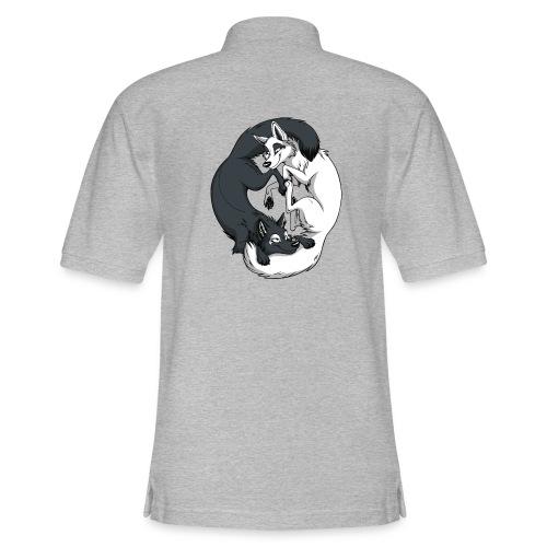 Yin Yang Foxes - Men's Pique Polo Shirt