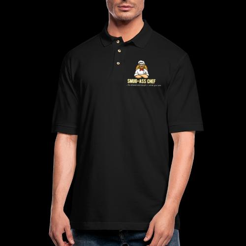 WHO DOES HE THINK HE IS? MR. FANCY CHEF? - Men's Pique Polo Shirt