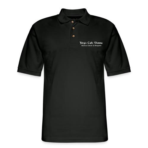 Jorg's Cafe Vienna - Men's Pique Polo Shirt