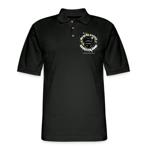 Covid Gangster - Men's Pique Polo Shirt