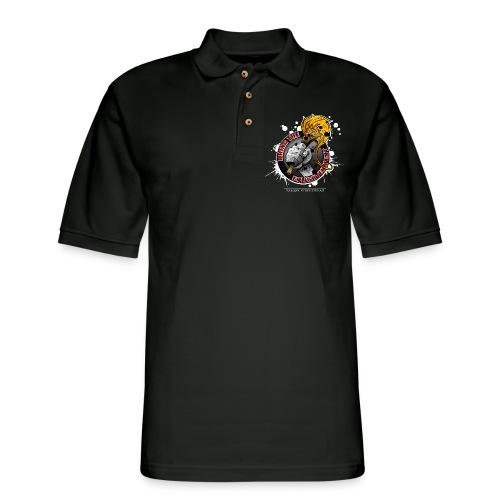 bring the enlightment - Men's Pique Polo Shirt