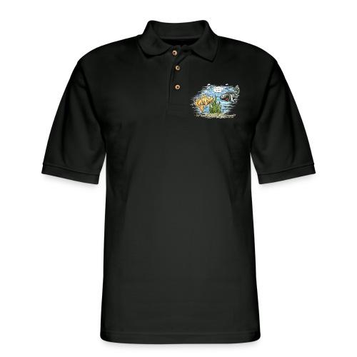 when clownfishes meet - Men's Pique Polo Shirt