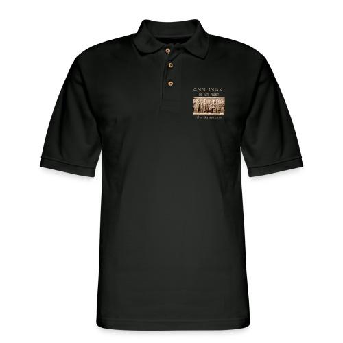 Annunaki 12th planet - Men's Pique Polo Shirt