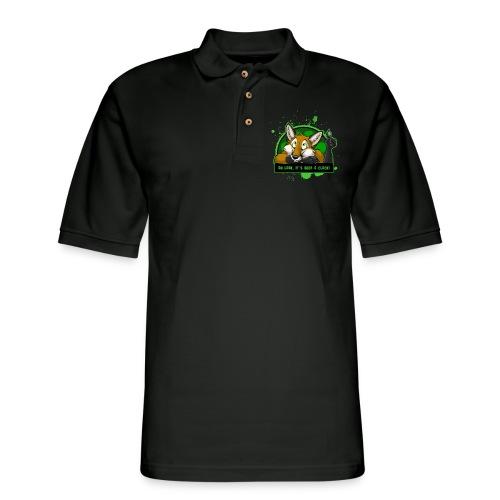 Beer-o-Clock Fox - Men's Pique Polo Shirt