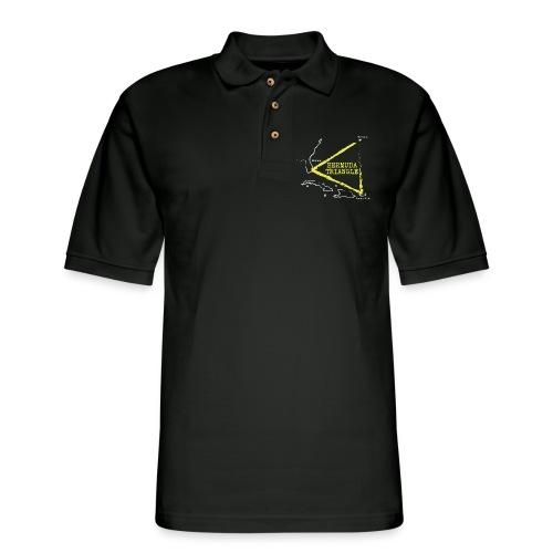 bermuda triangle - Men's Pique Polo Shirt