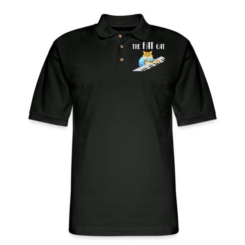 The Fat Cat - Men's Pique Polo Shirt