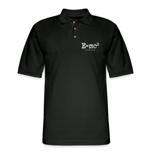 E=mc2 - Men's Pique Polo Shirt